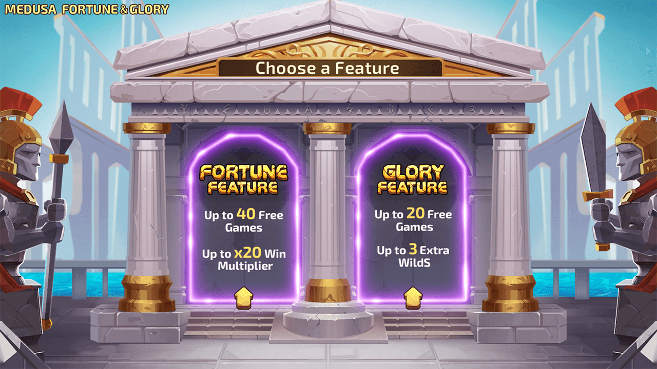 Medusa Fortune and Glory free spins